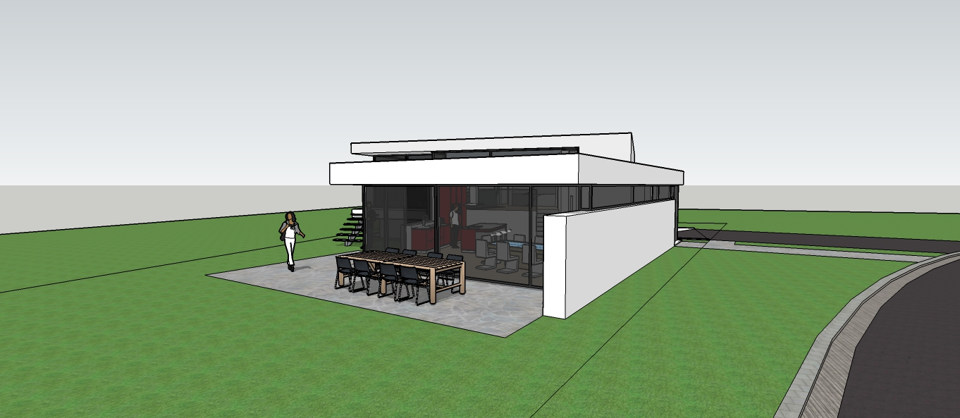 nouvelle maison architecte contemporain