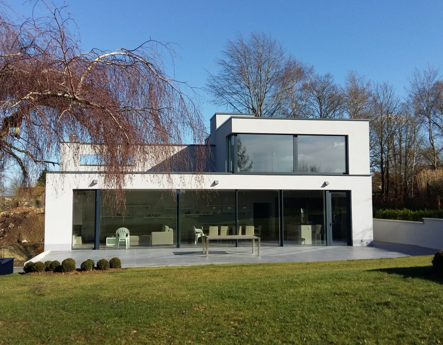 Architecte contemporain en Brabant Wallon (Nivelles)